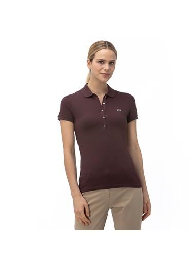 Lacoste Kadın Slim Fit Tişört PF7845.Y29 Renkli